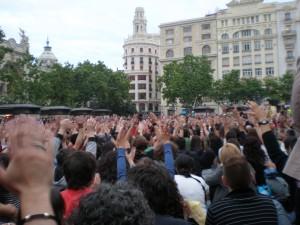 #acampadavalencia 19/05/11. Foto Isabel Montoro